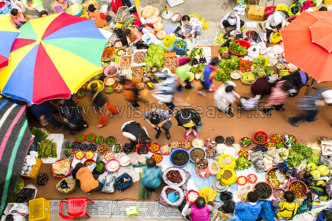 Traditional Chuseok Market