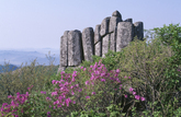 Mt. Mudeungsan in Spring