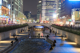 Cheonggyecheon..