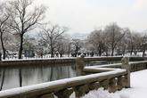 Gyeonghoeru Pavilion in Winter