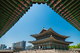 Gyeongbokgung Palace is Among Modern Building