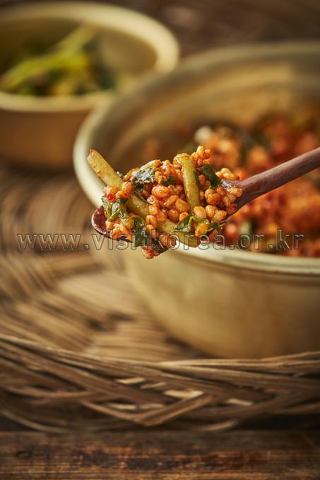 열무비빔밥