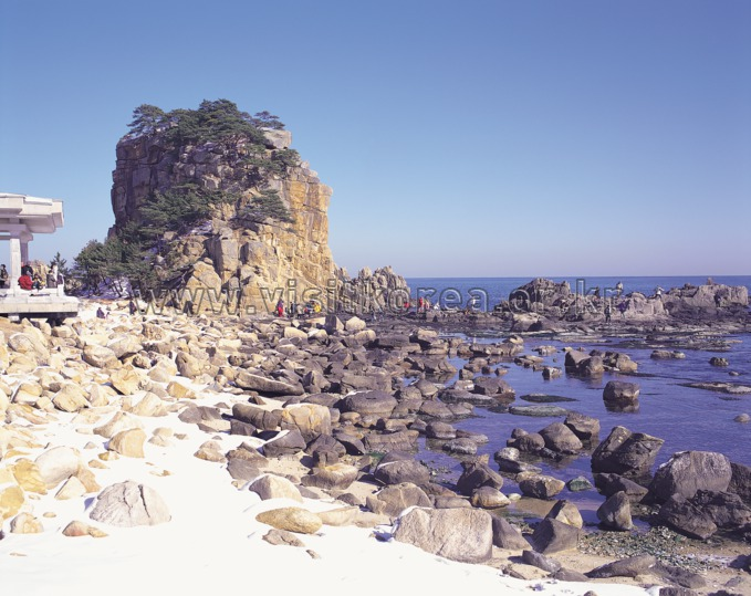 Haegeumgang Rock in Goseong 
