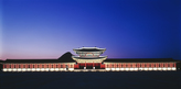 Night view of Gyeongbokgung Palace