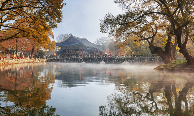 Autumn in Gwanghalluwon Garden