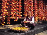 Farm Village (Making Dried Persimmon)