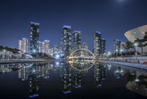Nightview of Songdo