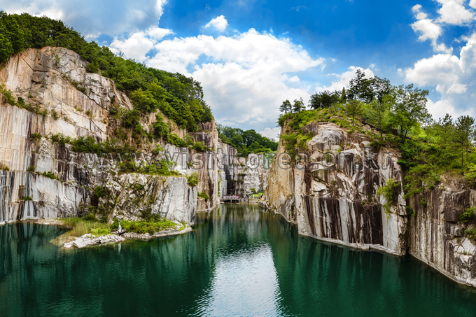 Beauty of an Old Quarry