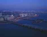 Night View of Hangang River