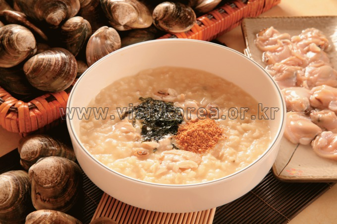 Baekhapjuk (Calm Porridge)