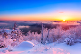 Beautiful Snowscape of Korea