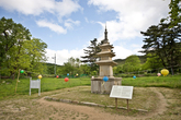 Three Storied Stone Pagoda of Cheollyongsa Site