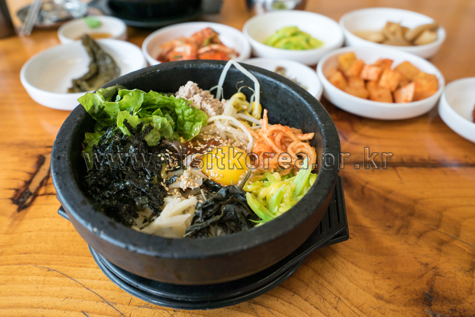 Sunchang Hot pepper paste bibimbap
