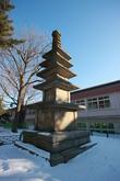 Five storied Stone Pagoda in Balsan-ri, Gunsan