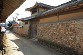 Stone Wall Street in Samjicheon Village