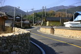 Stone wall Road