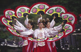 Korean Traditional Fan Dance