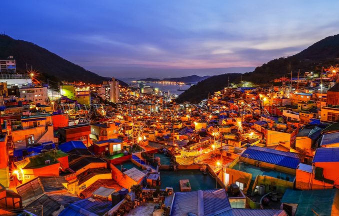 Lights of Gamcheon Culture Village