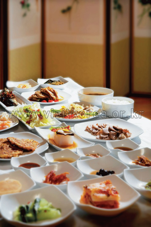 Hwarang Bapsang (Hwarang Set Meal with Rice),Food