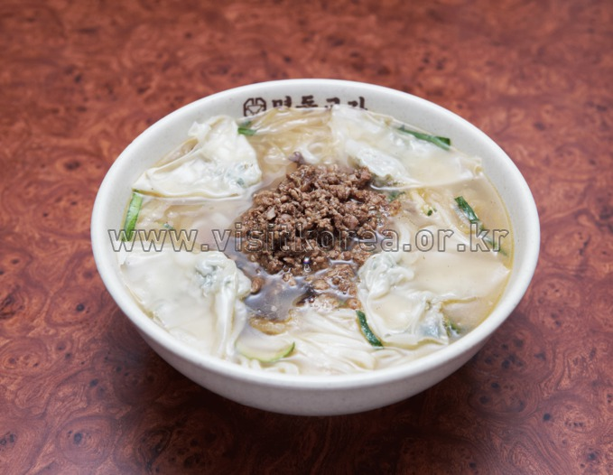 Food, Kalguksu-Hand-made Noodles