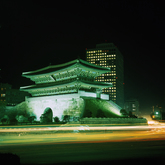 Night view of Namdaemun Gate