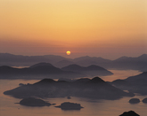 Sunrise at Dadohae National Marine Park 