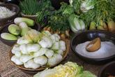 Kimchi Ingredi..