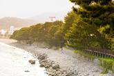 거제학동몽돌해변