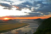 Sunrise of Yeongsangang River