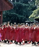 Youth at Confucian Ceremony
