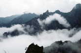 Clouds at Mt. Seoraksan