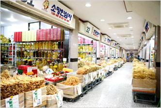 Punggi Ginseng Market