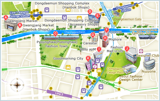 Places I Want To Visit Dongdaemun Shopping Center Market Whats