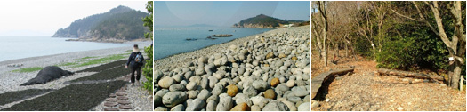 Gugyedeung (구계등) Pebble Beach in Jeongdo-ri, Wando Island