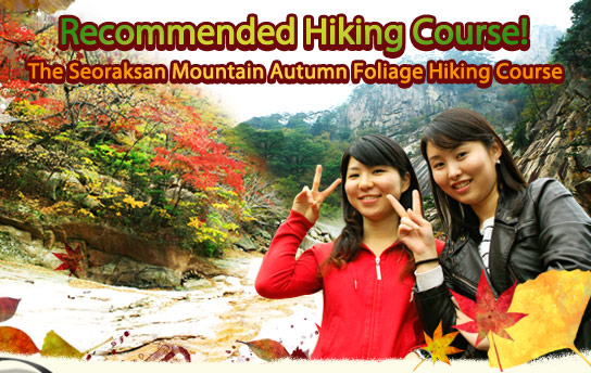 Recommended Hiking Course! The Seoraksan Mountain Autumn Foliage Hiking Course