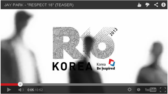 R-16 KOREA  Respect 16 by Jay Park
