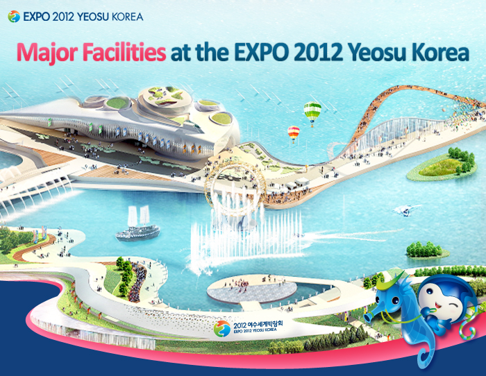 Major Facilities at the EXPO 2012 Yeosu Korea