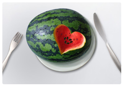 Healthy food - watermelon seeds
