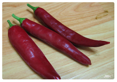 Healthy foods-hot peppers