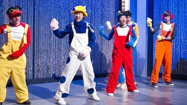 H O T's Tony and Jang Woo Hyuk Imitate Themselves on 'SNL Korea'
