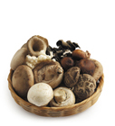 grains mushrooms poto