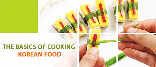 the basics of cooking korean food