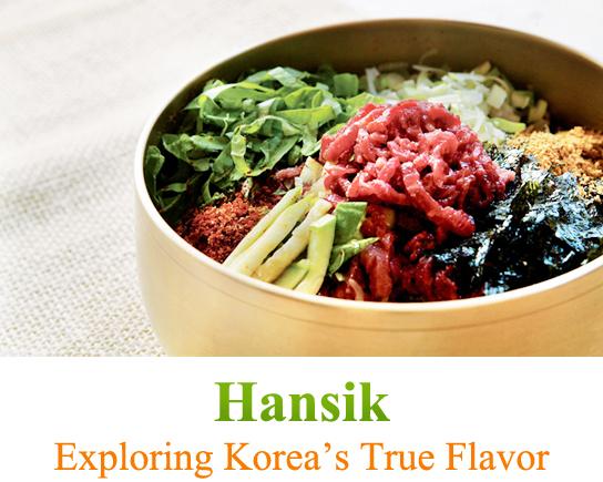 Hansik: Exploring Korea's True Flavor