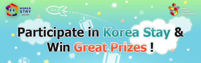 Participate in Koreastay & Win Great Prizes!