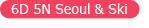 6D 5N Seoul & Ski