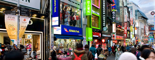 Myeong-dong main