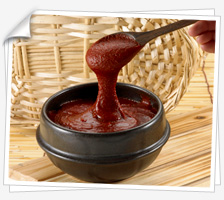 Gochujang (고추장, hot pepper paste) is one of the most beloved spices in Korea.