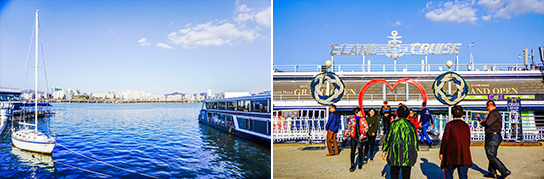 Photo:Hangang River Ferry Cruise dock