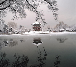 Wintertime at Gyeongbokgung Palace, Seoul
