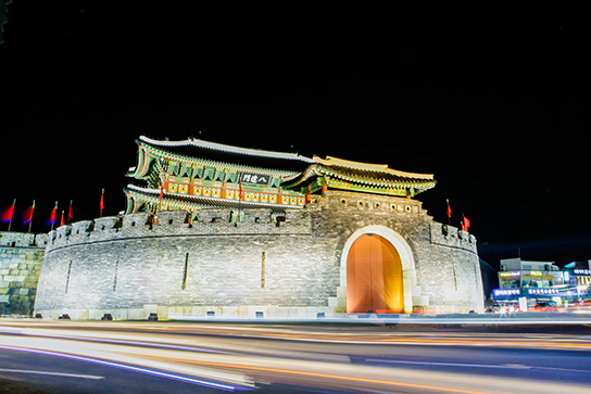 Photo: Night View of Paldalmun Gate